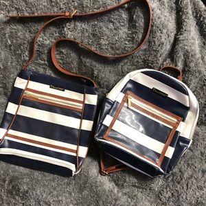Senegence Display Bag Purse Backpack LOT